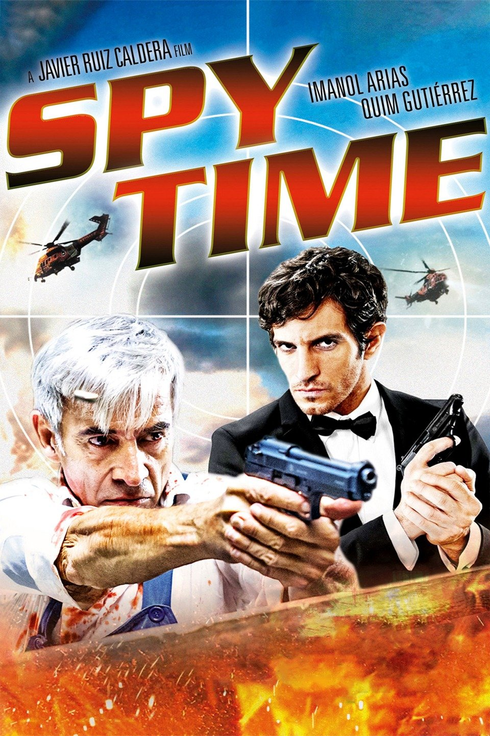 Spy Time (2015) Dual Audio 720p BluRay [Hindi ORG – English] Download