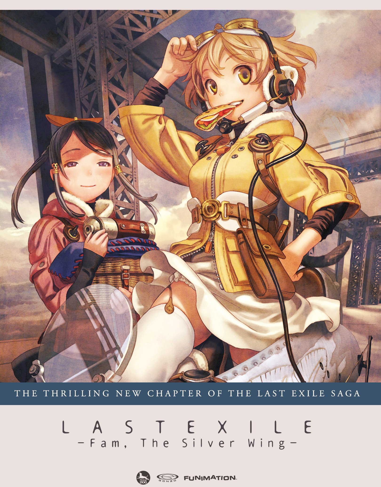 Last Exile: Fam,The Silver Wing-